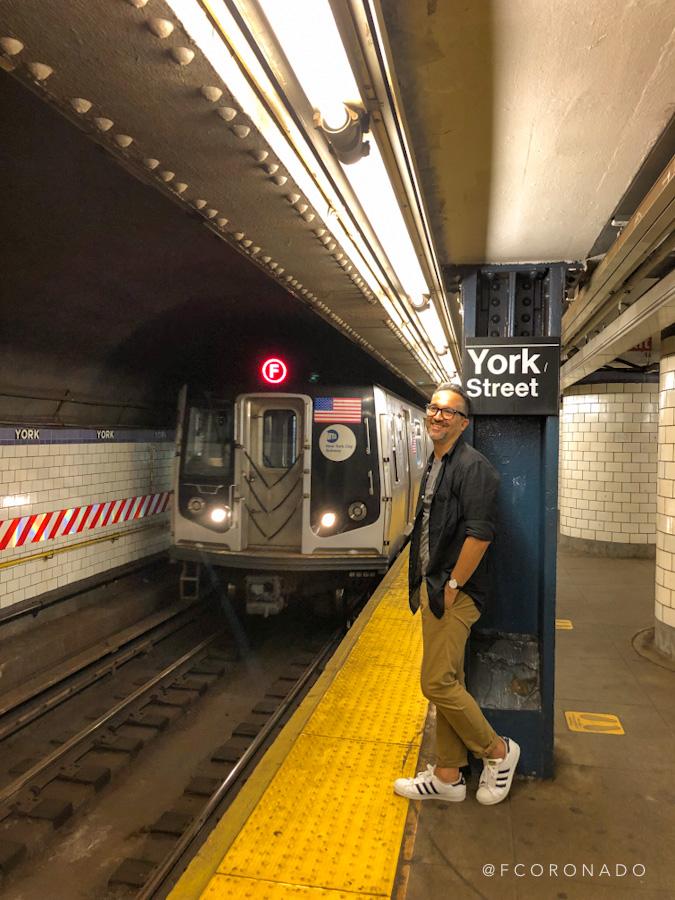 transporte publico en nueva york