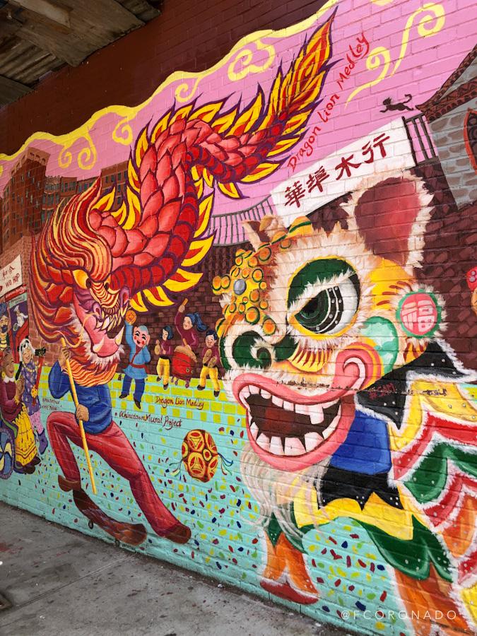 street art en barrio chino