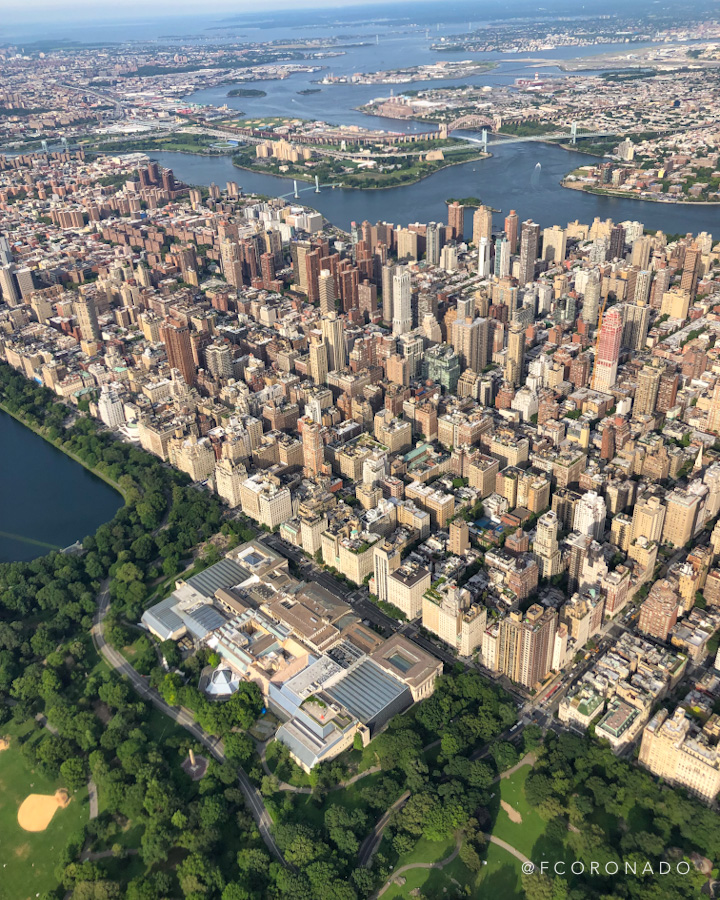 vista panoramica de Nueva York