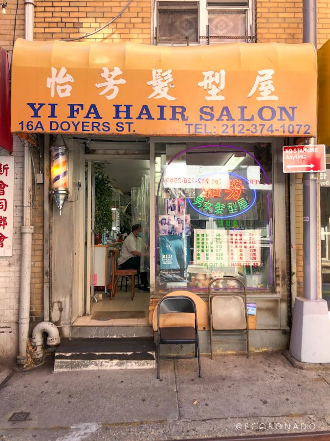 peluqueria en el barrio chino