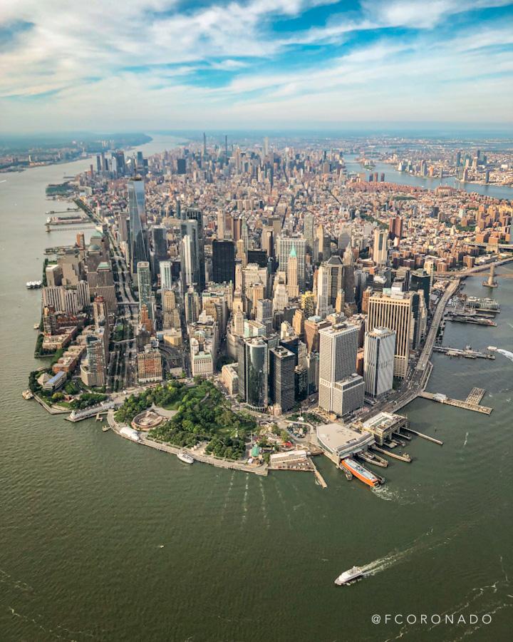 sobre vuelo por nueva york