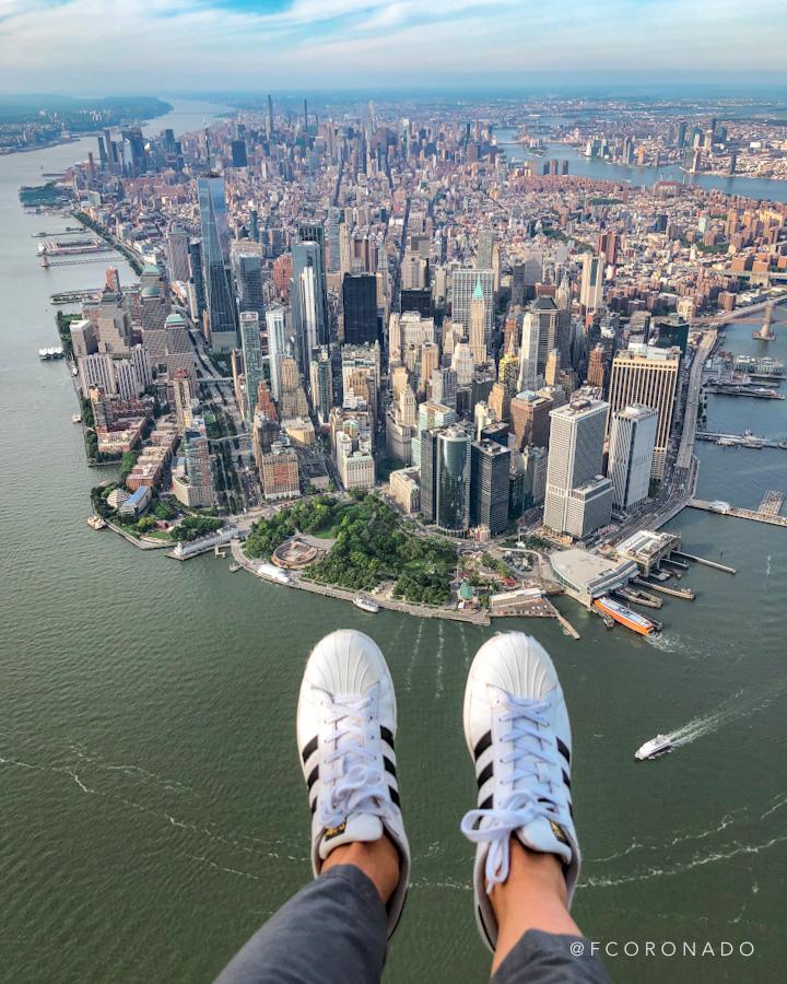 sobrevuelo en helicoptero en Nueva York