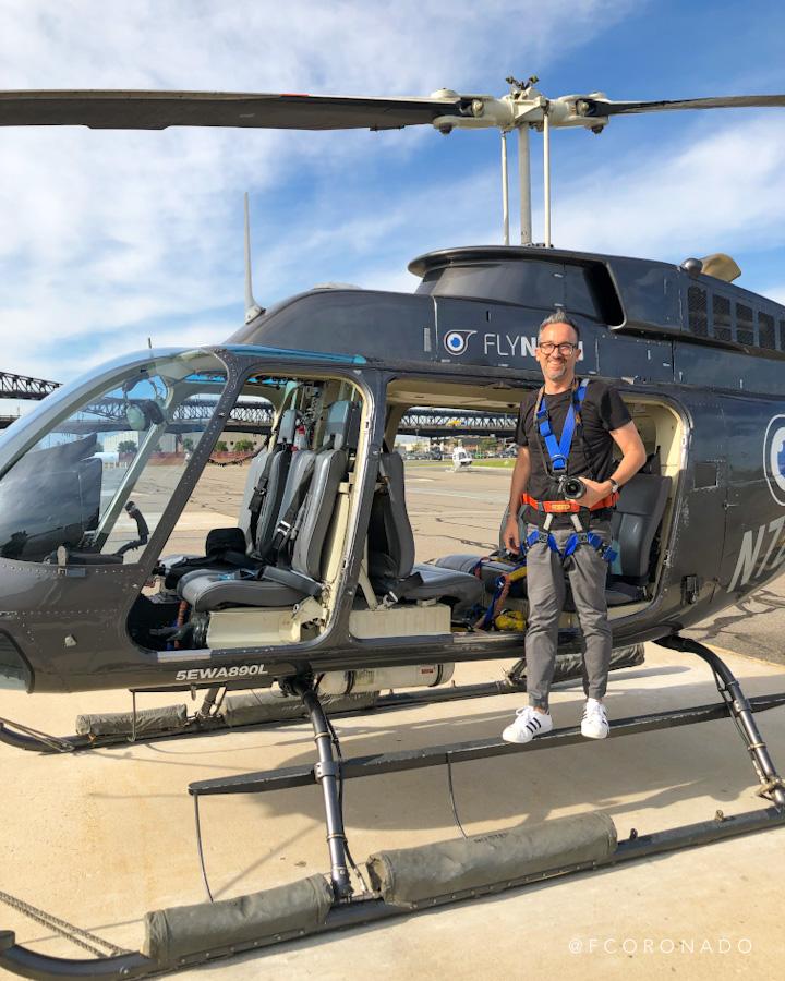 paseo en helicoptero en nueva york