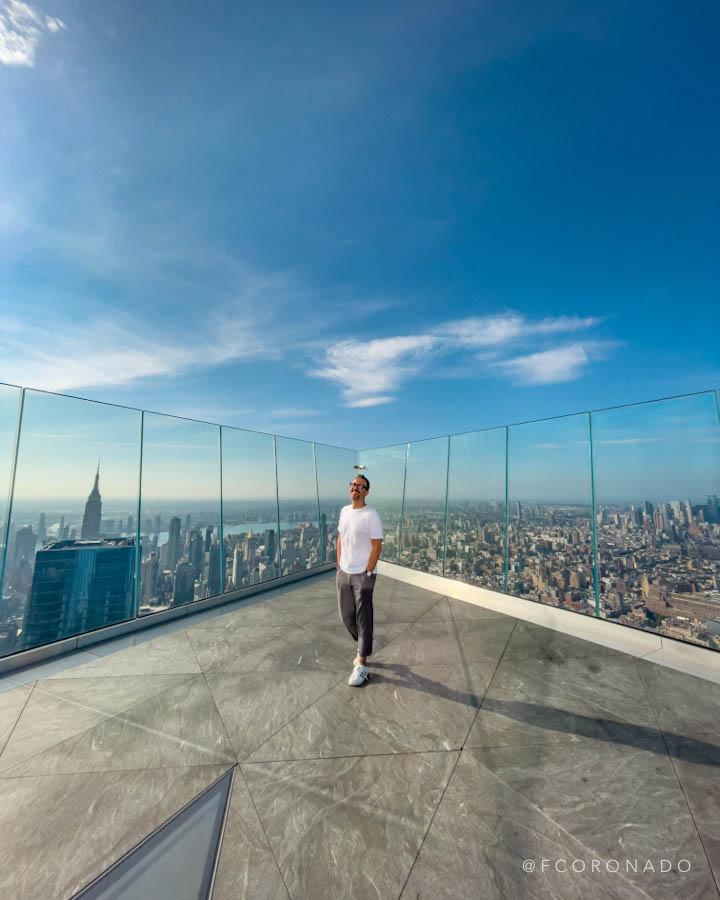 panoramica desde the edge en nueva york