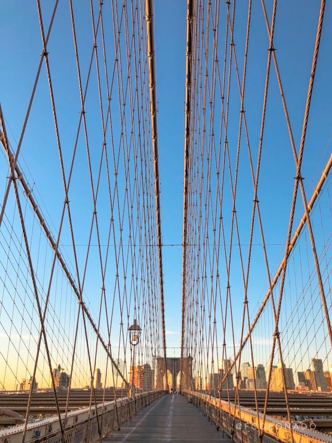puente colgante de nueva york