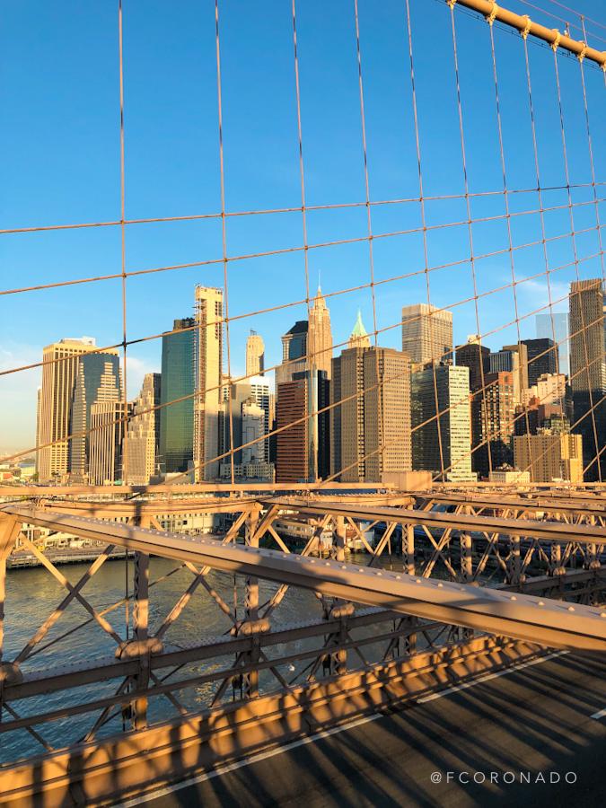 vista desde brooklyn bridge