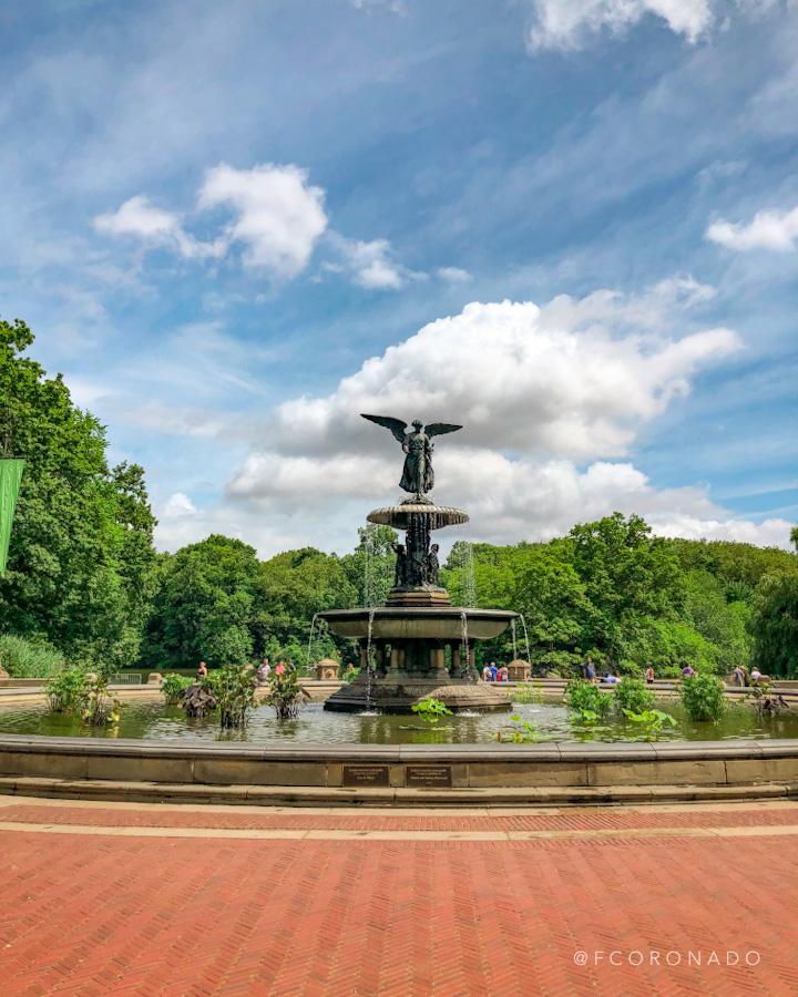 fuente en central park