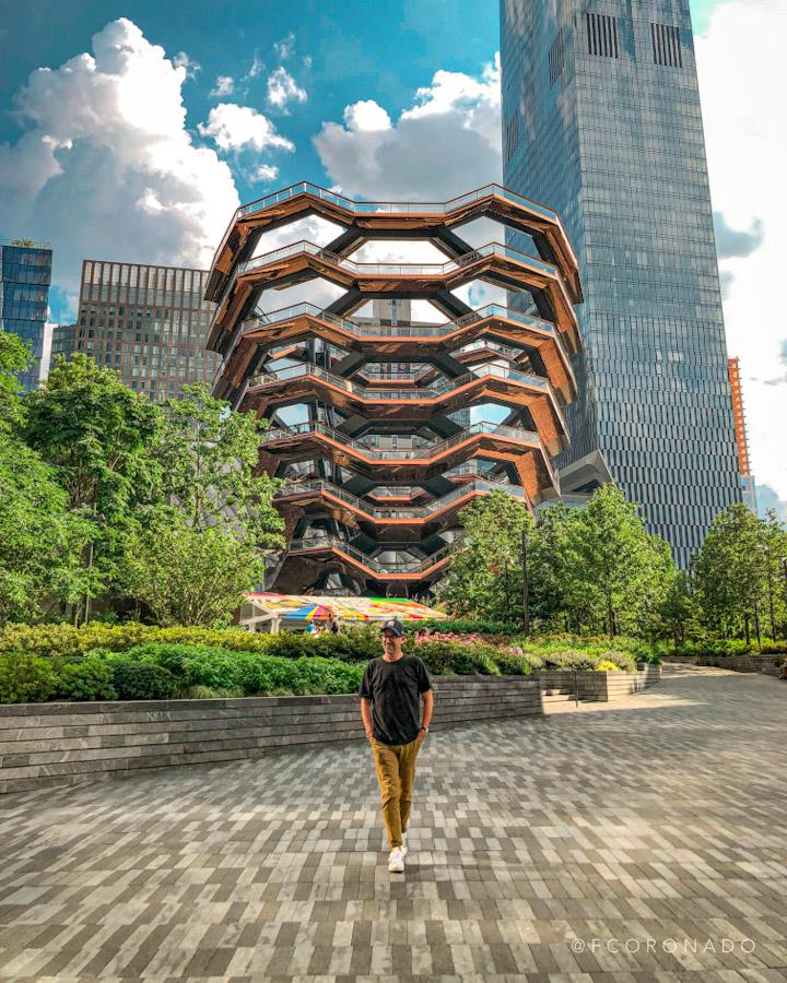 estructura en Hudson Yards de Nueva York